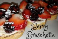 Berry Bruschetta